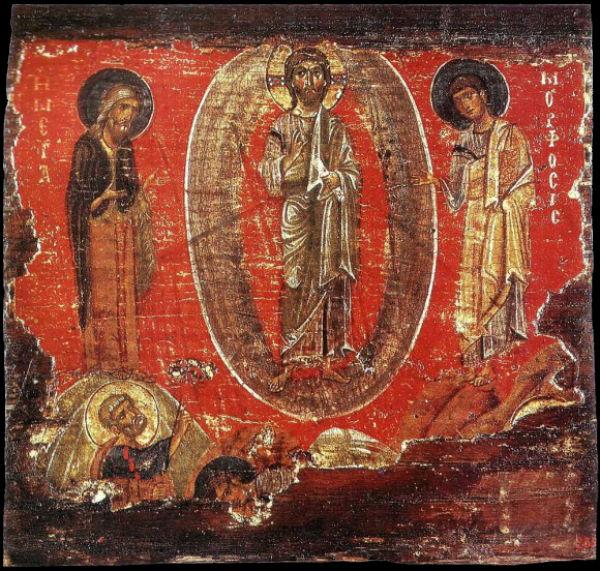 Икона - первая  половина XII века - Государственный Эрмитаж - Санкт-Петербург.jpg