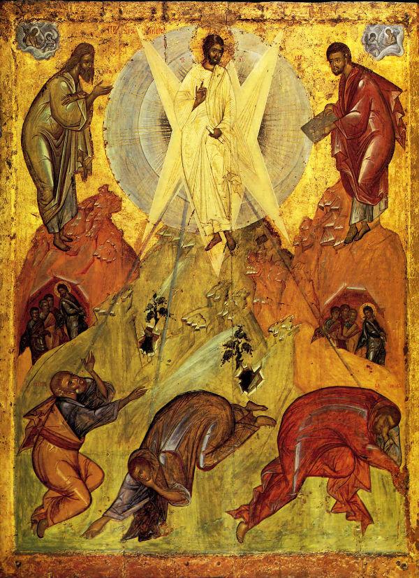 Икона из Спасо-Преображенского собора в Переславле-Залесском - Круг Феофана Грека - Около 1403 года - ГТГ - Москва.jpg
