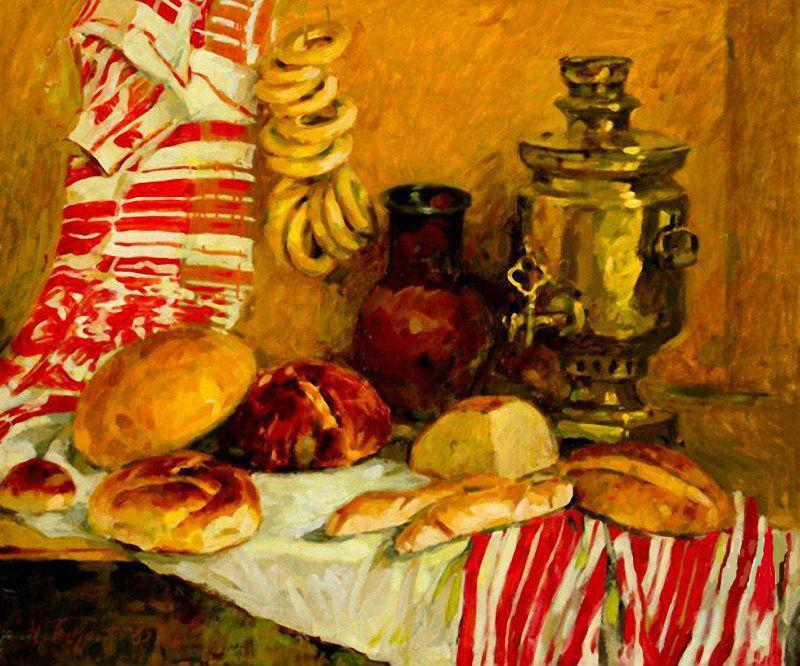 Бортников Николай Федорович (1916-1997) - Хлеб - 1985.jpg