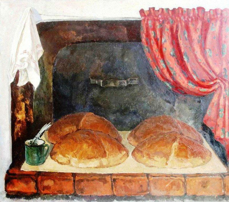 Нечаева Тамара Павловна (1922-2003) - Хлеб - 1986.jpg
