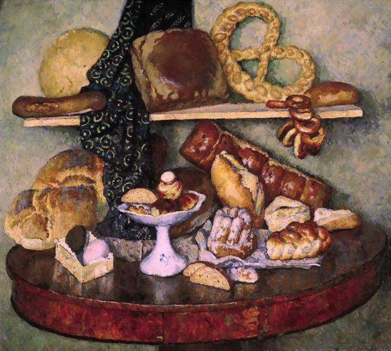 Машков Илья Иванович (1881-1944) Снедь московская. Хлебы - 1924 - Третьяковская галерея.jpg