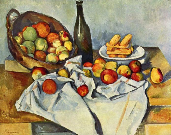 Поль Сезанн - Натюрморт с корзиной яблок 1890-1894.jpg