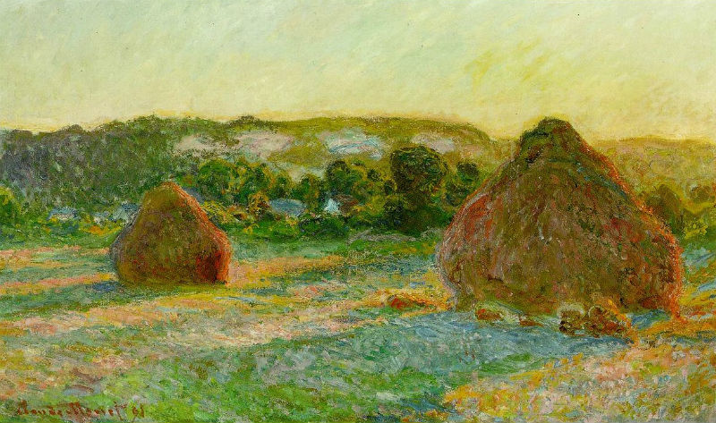 Клод Моне Пшеничные стога или Конец лета 1890-1891.jpg