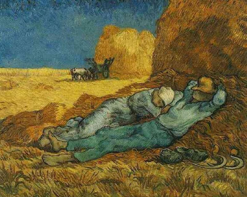 Винсент ван Гог - Полдень отдохнуть от работы.jpg