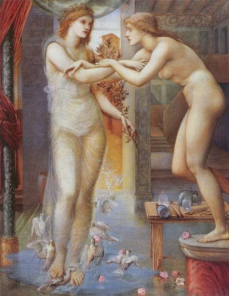 Афродита и ожившая Галатея - Божественный огонь.jpg