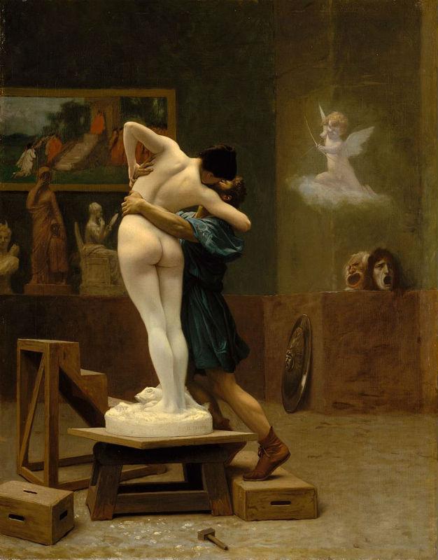 Жан-Леон Жером - Пигмалион и Галатея 1890 - Метрополитен-музей - Нью Йорк.jpg