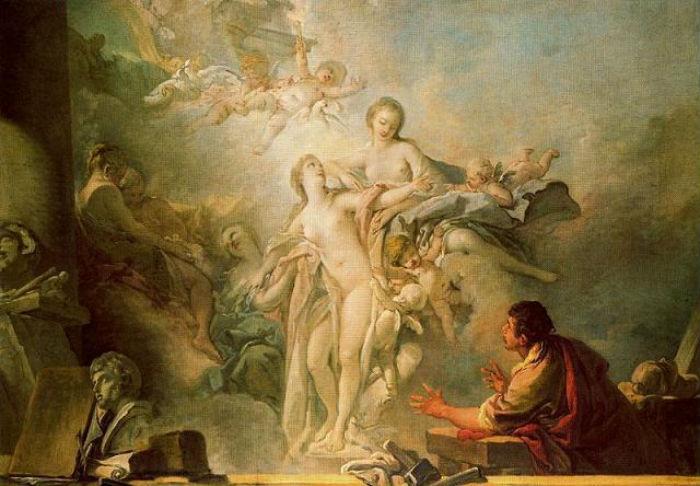 Fransua Bushe - Pigmalion i Galateya - 1767 - Ermitazh.JPG