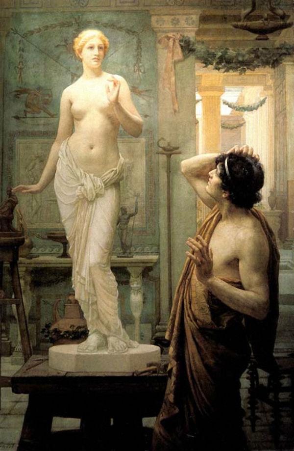Эрнест Норман - Пигмалион и Галатея - 1886.jpg