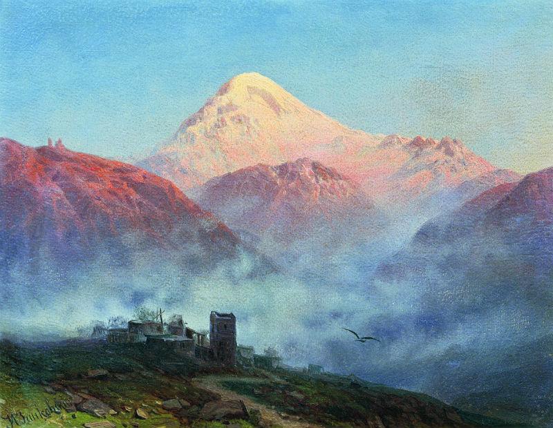Занковский Илья Николаевич (1832 - 1919)- Гора Казбек.jpg