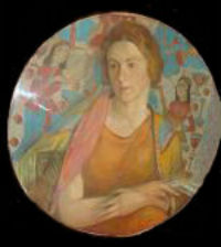 М.В.Лебедева - Портрет Р. О'Коннелль-Михайловской  - 1928.jpg