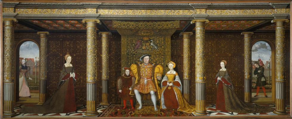 Портрет семьи Генриха VIII - неизвестный художник.jpg