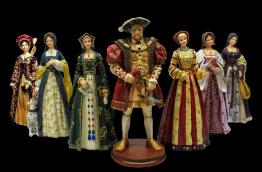 Куклы - Генрих VIII и шесть его жён.jpg
