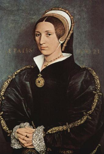 Ганс Гольбейн Младший. Портрет Катарины Говард, пятой жены короля Генриха VIII.jpg