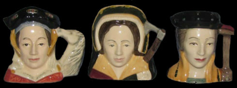 Royal Doulton character jug Henry VIII & His Six Wives set - 1979-1991 - 1.jpg