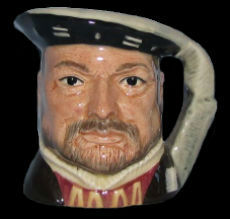 Royal Doulton character jug Henry VIII & His Six Wives set - 1979-1991.jpg