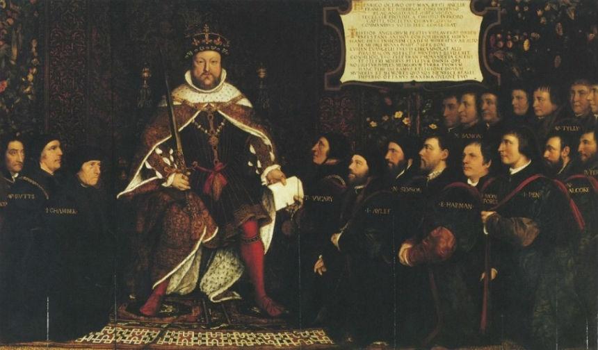 Ганс Гольбейн младший - Генрих VIII в окружении врачей.jpg