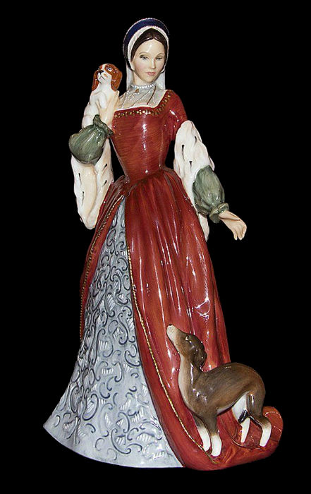Royal Doulton -  Anne Boleyn - 1990.jpg