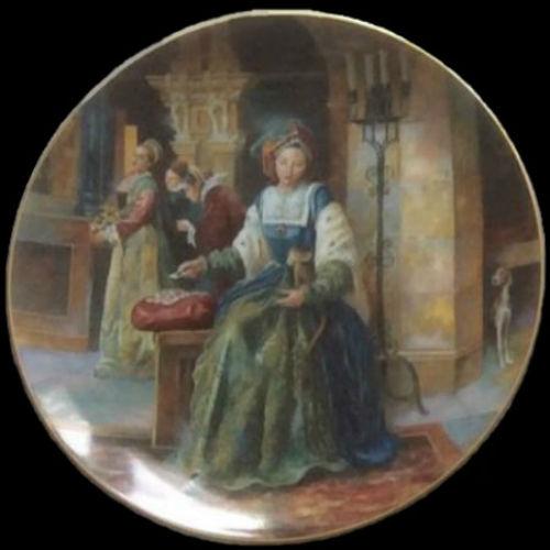 Екатерина Арагонская - Royal-Doulton-Henry-VIII - декоративные тарелки.jpg