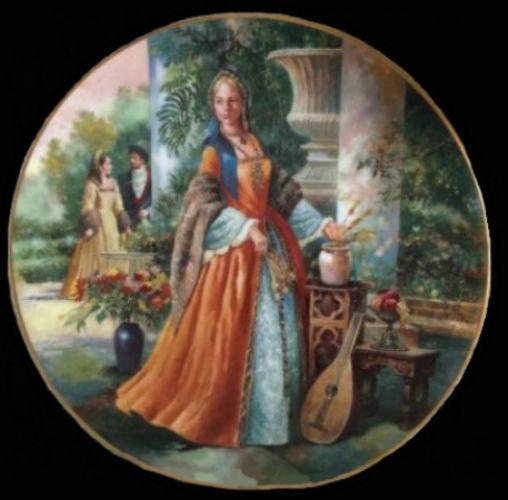 Джейн Сеймур - Royal-Doulton-Henry-VIII - декоративные тарелки.jpg