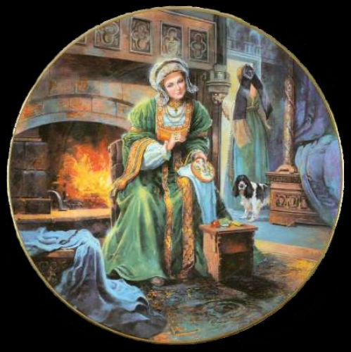 Анна Клевская - Royal-Doulton-Henry-VIII - декоративные тарелки.jpg