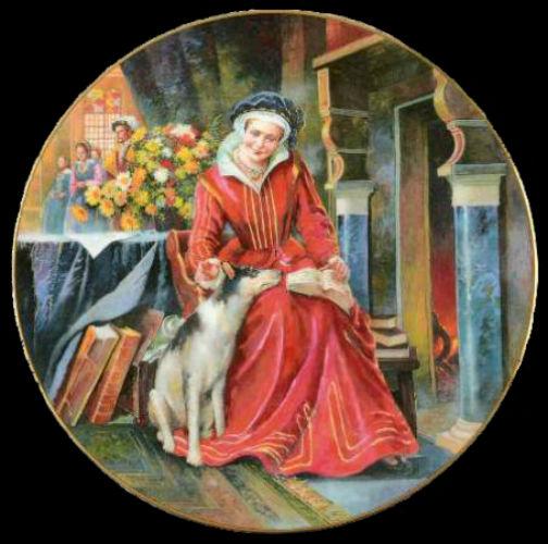Екатерина Парр - Royal-Doulton-Henry-VIII - декоративные тарелки.jpg