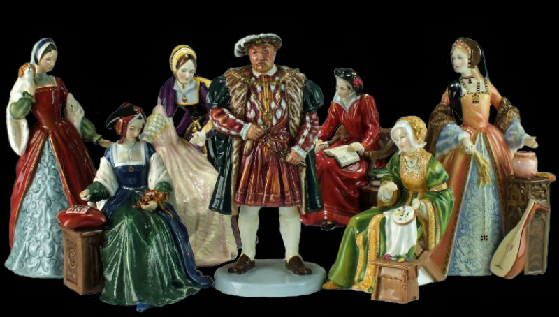 Henry the VIII and His Six Wives - Royal Doulton.jpg