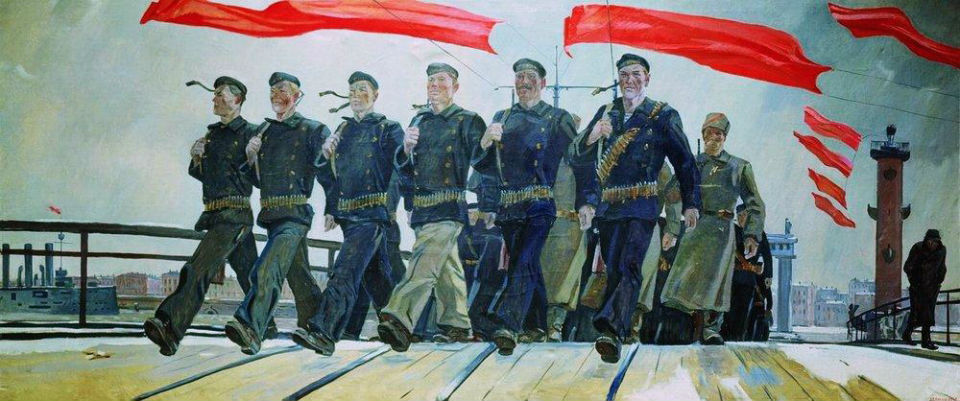 Александр Дейнека - Левый марш.jpg