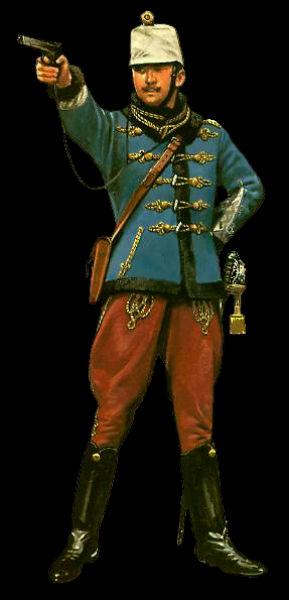 венгерская гусарская форма в начале Первой мировой войны.jpg