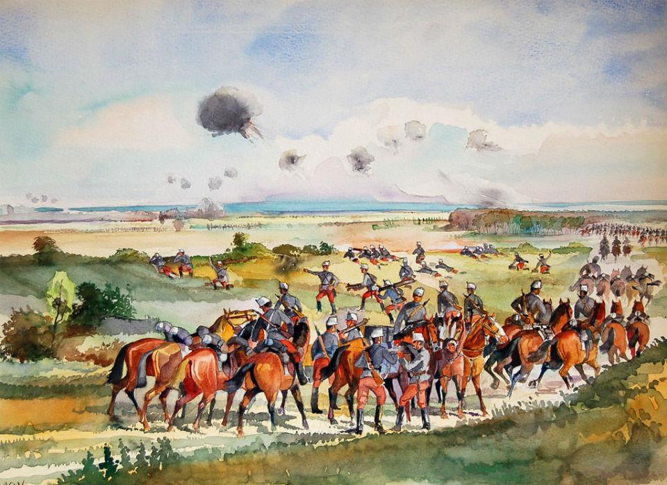 Altorjai Göbel János - Гусары в Первой мировой войне.jpg