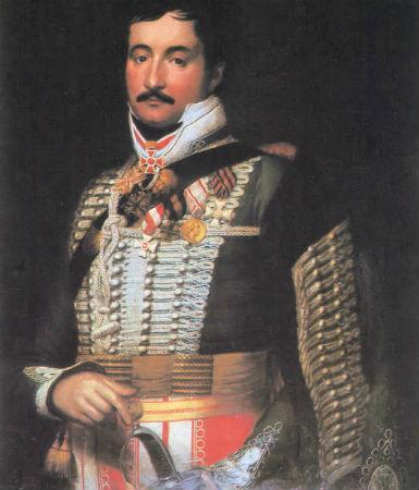 Simonyi József (1771-1832) ismertebb nevén Simonyi óbester legendás hírű huszártiszt.jpg