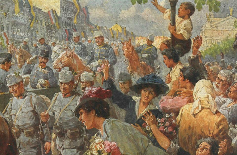 Р.А.Хёгер - 22 июня 1915 года австро-венгерские войска 2-й армии под командованием генерала от кавалерии Эдуарда фон Бём-Эрмоли освободили город Льво…