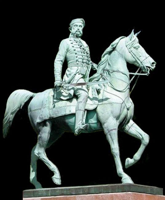 Эрнст Юлиус Хенель - памятник герцогу Фридриху Вильгельму в Брауншвейге.jpg