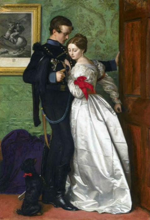 Джон Эверетт Милле - Черный брауншвейгский гусар - Художественная галерея леди Левер - Ливерпуль - 1860.jpg