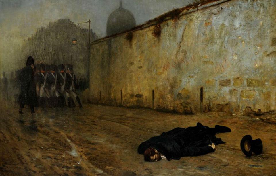 Жан-Леон Жером - Казнь маршала Нея (1865).jpg