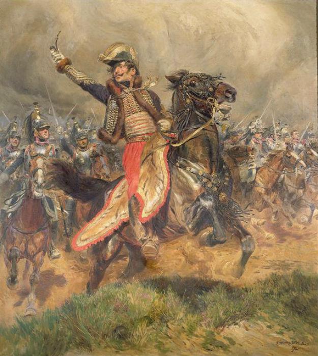 Жан Батист Эдуард Детайль - Генерал Лассаль при Ваграме.jpg