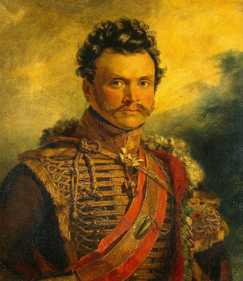 Джордж Доу - Портрет генерала от кавалерии  Васильчикова Дмитрия Васильевича.jpg