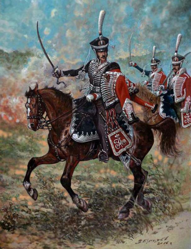 Герой воен ( 1805 -1814 ) командир Белорусского гусарского полка генерал-лейтенант Сергей Николаевич Ланской.jpg