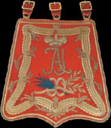 Ташка офицерская Лейб-гвардии Гусарского полка. Россия. 1801–1825.png