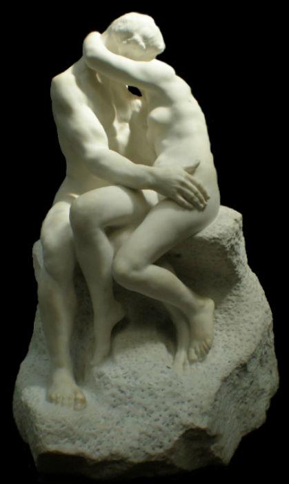 Огюст Роден - Поцелуй - 1889 - (реплика 1903).jpg