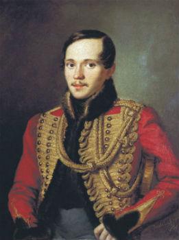 Портрет Михаила Юрьевича Лермонтова (1814-1841) -  Пётр Ефимович Заболотский.jpg