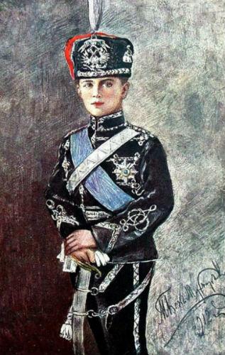 Наследник престола царевич Алексей в форме чёрных гусаров.jpg