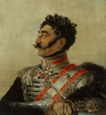 Джордж ДОУ (1781-1829) - Портрет князя Мадатова Валериана Григорьевича.jpg
