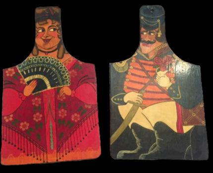 Декоративные разделочные доски Дами и Гусар.jpg