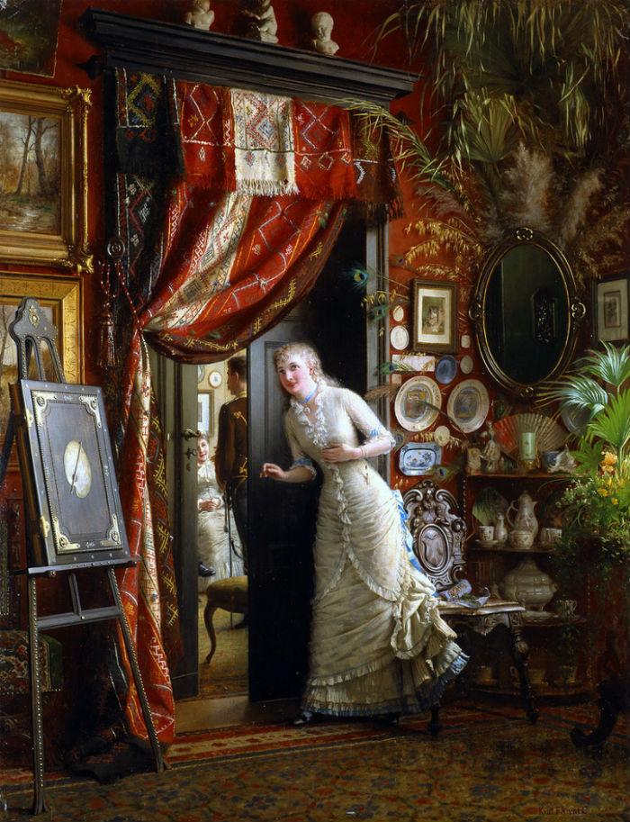 Knut Ekwall (шведский художник) (1843-1912) - Предложение.jpg
