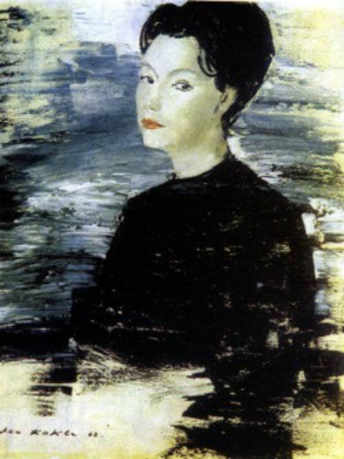 Портрет Бэлы Руденко (художник Лео Кокле).jpg