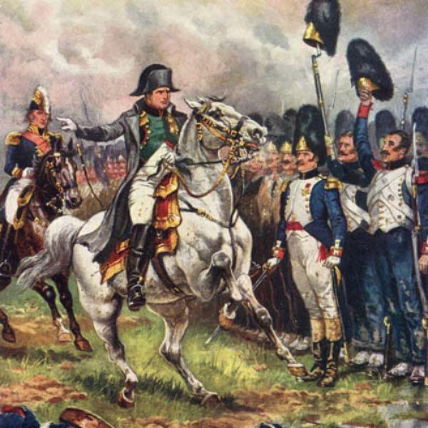 Наполеон во время битвы при Ватерлоо.jpg