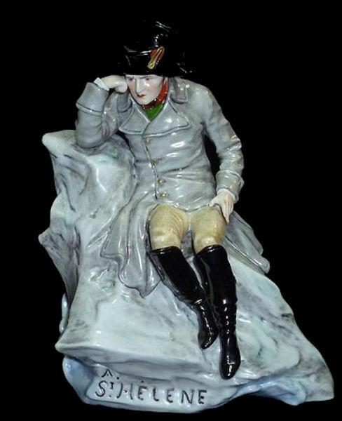 Император Франции Наполеон I Бонапарт в плену у англичан на острове Святой Елены - Германия - Scheibe-Alsbach - 1925-1972.jpg