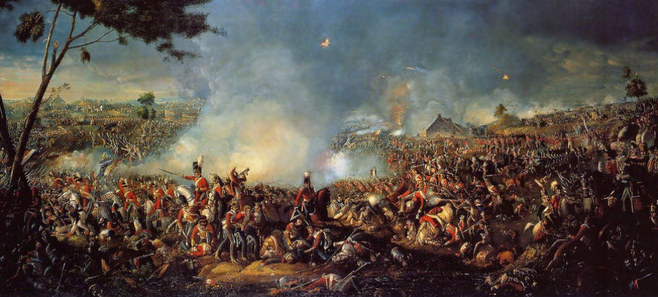 Уильям Сэдлер - Battle of Waterloo - 1815.jpg