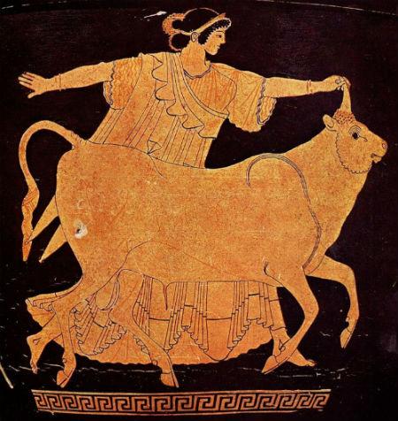 Древняя Греция - Роспись на краснофигурном сосуде.jpg