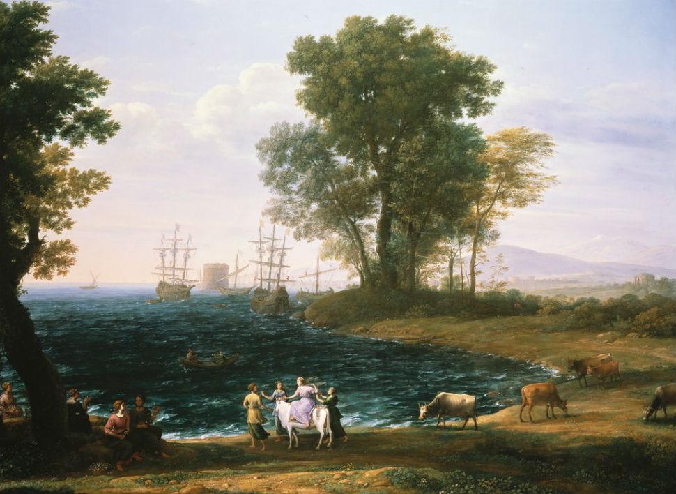 Клод Лоррен - Похищение Европы - 1667.jpg